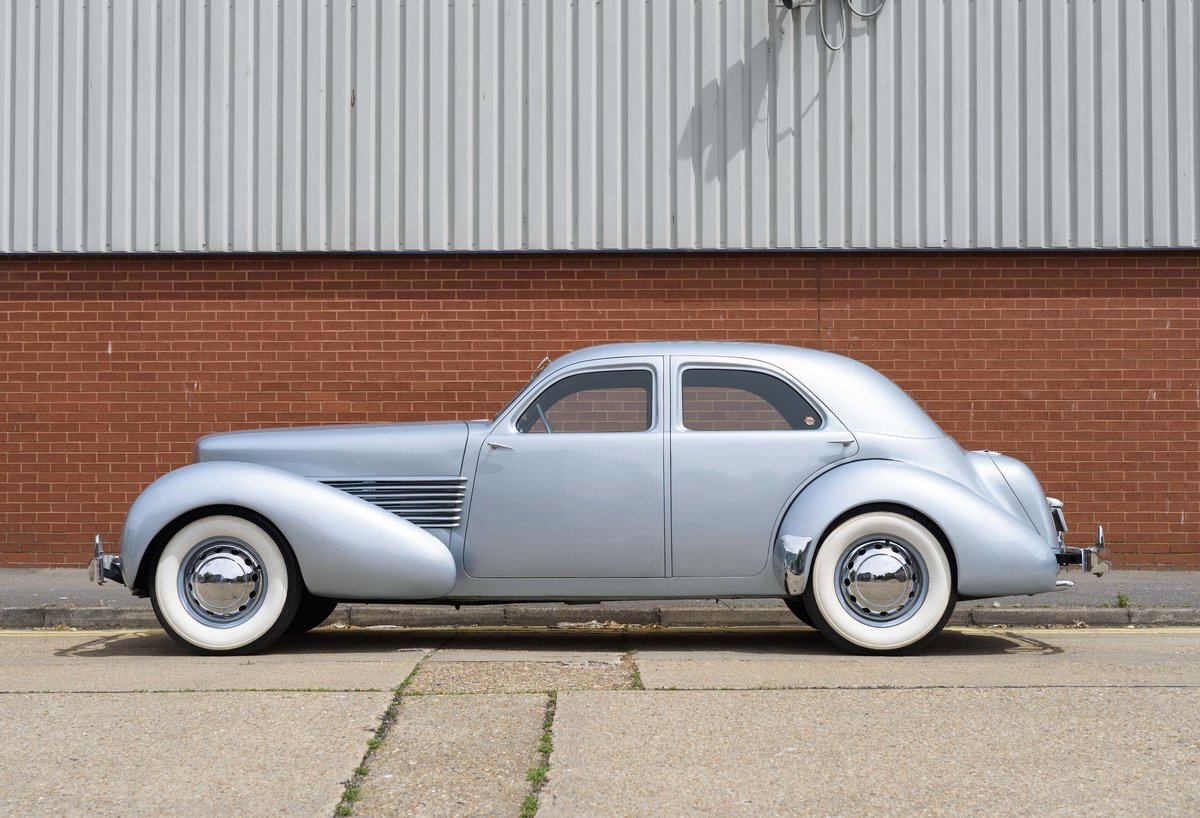1937 Cord 810 Beverly Sedan (LHD) For Sale (picture 6 of 24)