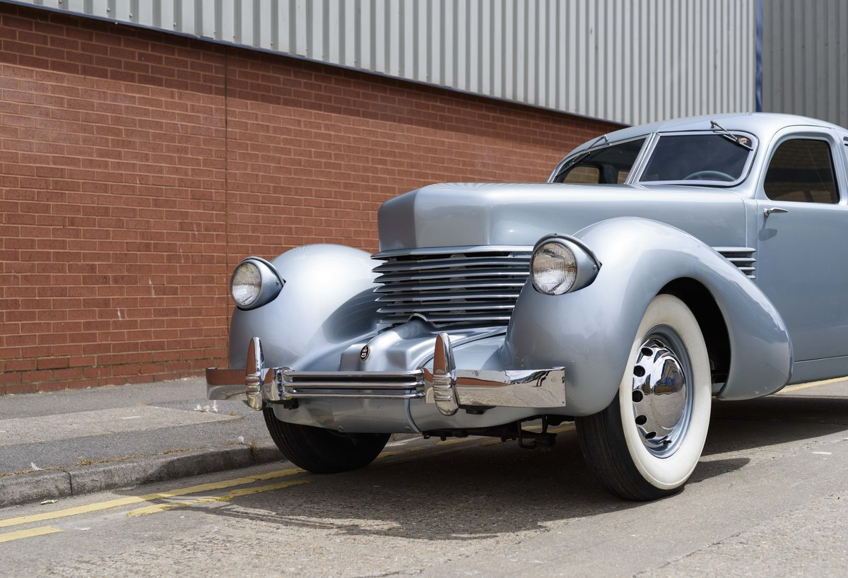 1937 Cord 810 Beverly Sedan (LHD) For Sale (picture 9 of 24)