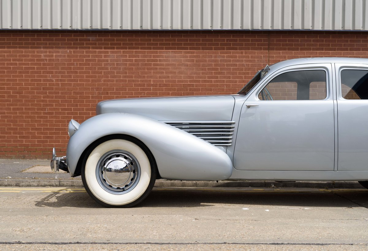 1937 Cord 810 Beverly Sedan (LHD) For Sale (picture 13 of 24)