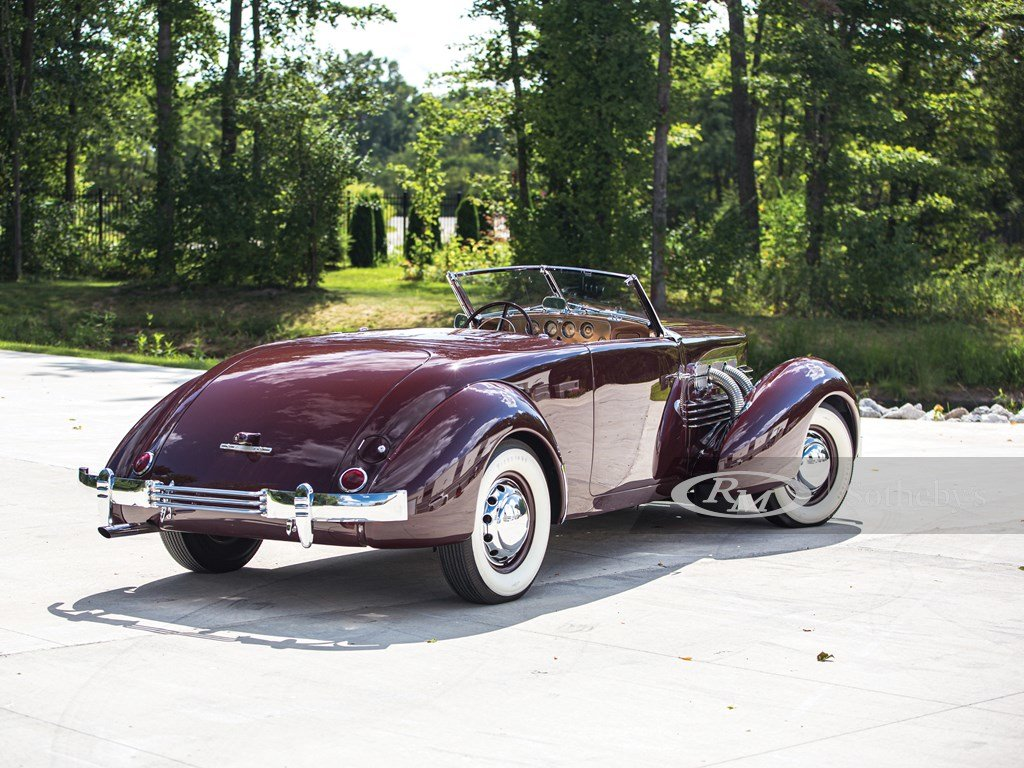 1937 Cord 812 Supercharged Cabriolet  For Sale by Auction (picture 2 of 6)