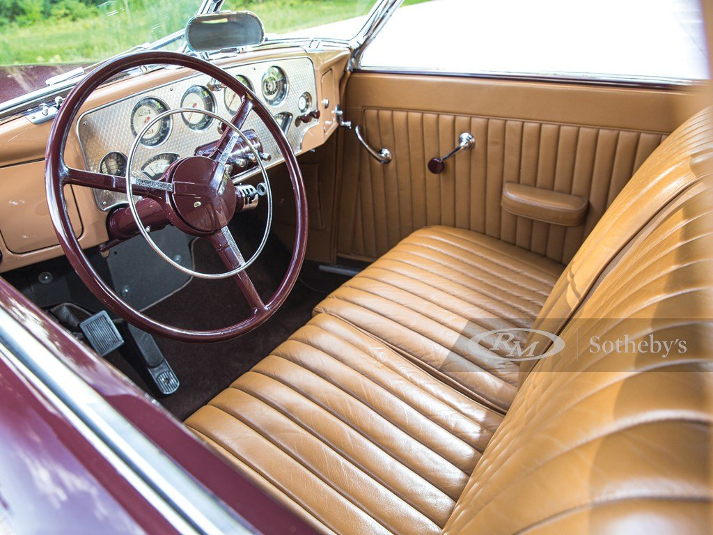1937 Cord 812 Supercharged Cabriolet  For Sale by Auction (picture 4 of 6)