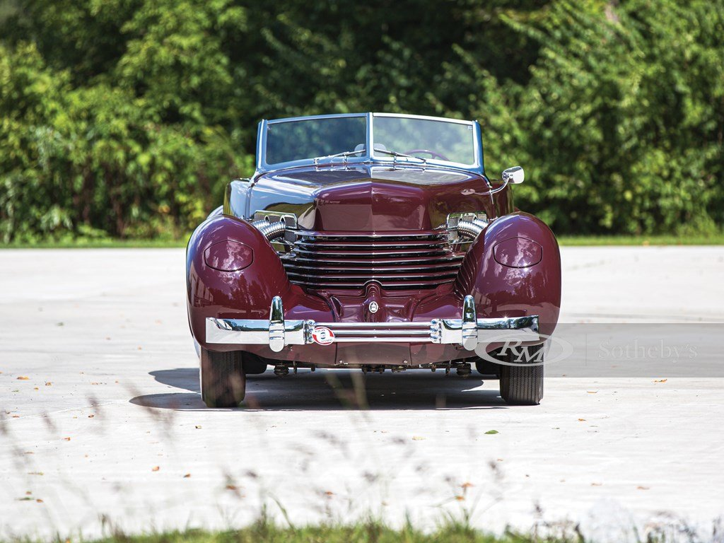 1937 Cord 812 Supercharged Cabriolet  For Sale by Auction (picture 6 of 6)