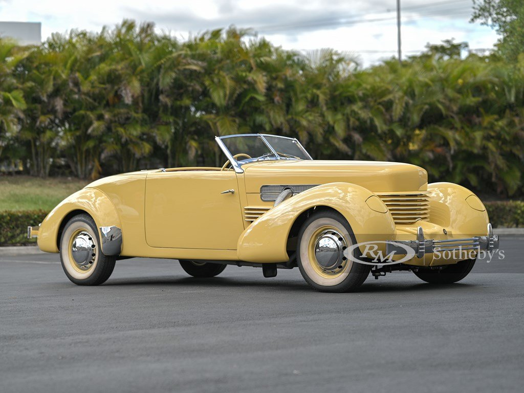 1937 Cord 812 Supercharged Cabriolet  For Sale by Auction (picture 1 of 12)