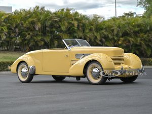 Picture of 1937 Cord 812 Supercharged Cabriolet  For Sale by Auction