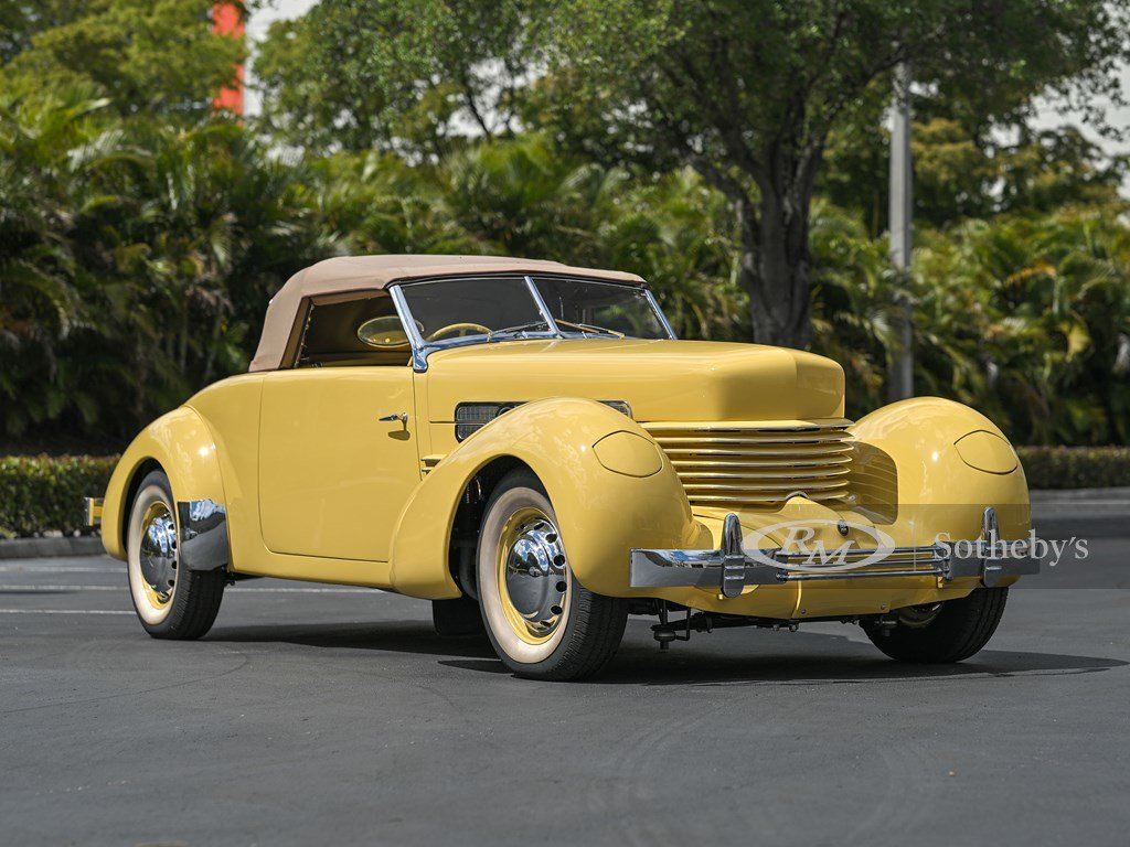 1937 Cord 812 Supercharged Cabriolet  For Sale by Auction (picture 7 of 12)