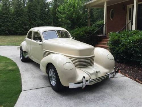 1937 Cord Beverly Bustleback For Sale (picture 1 of 6)