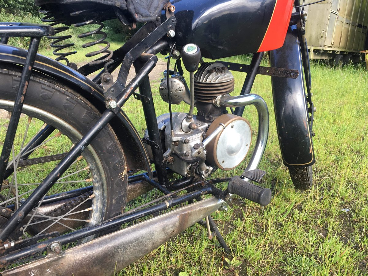 Coventry Eagle 125cc 1939 For Sale (picture 4 of 5)
