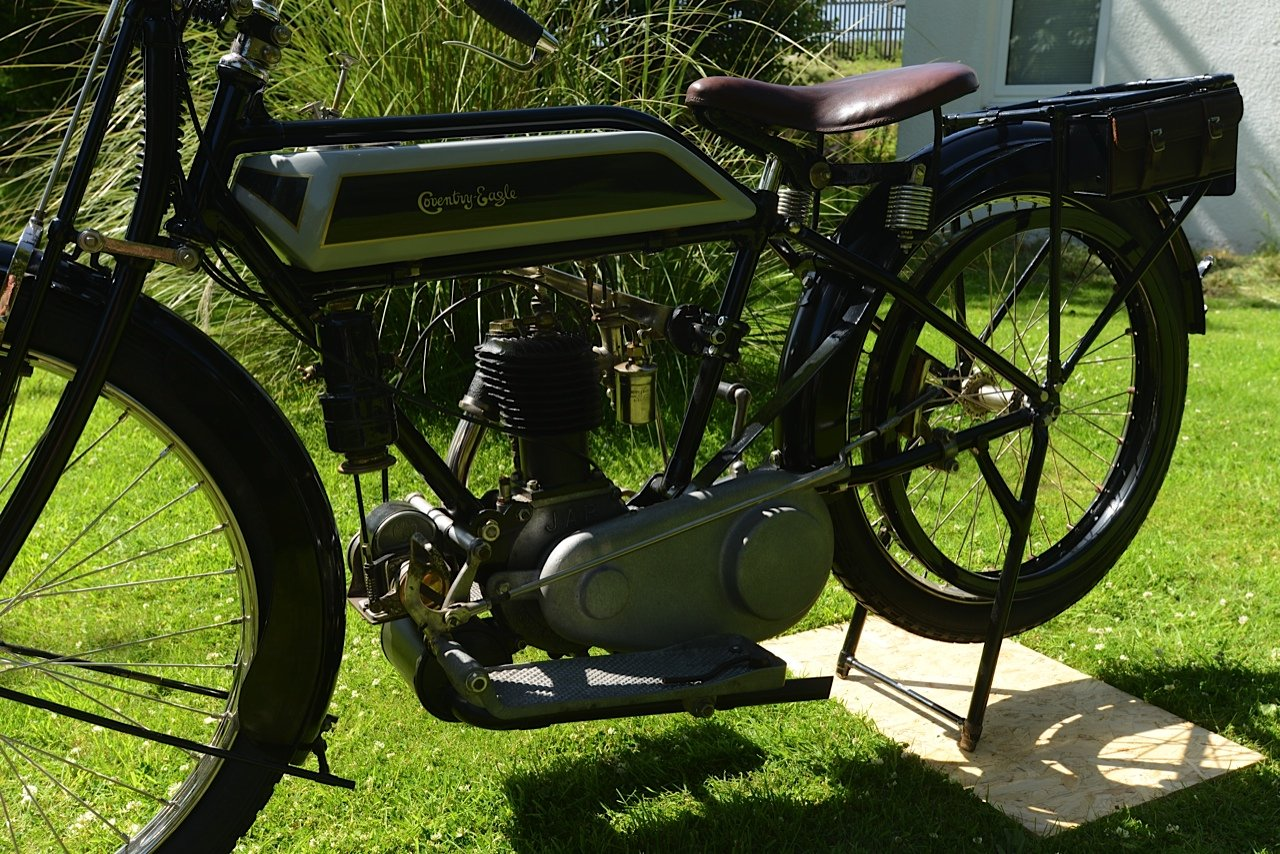 1921 Coventry Eagle Rare JAP Engined  For Sale (picture 2 of 4)