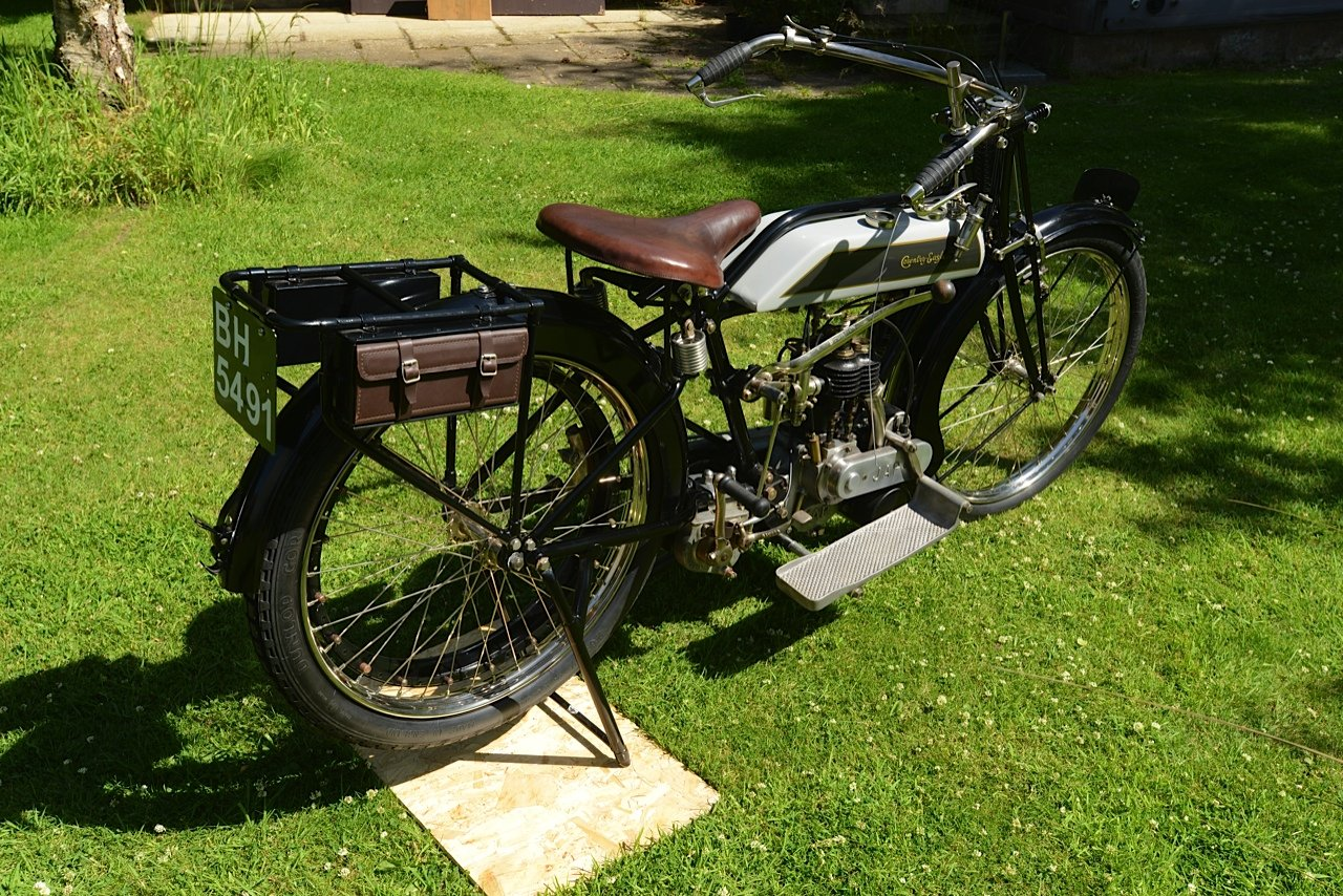 1921 Coventry Eagle Rare JAP Engined  For Sale (picture 3 of 4)