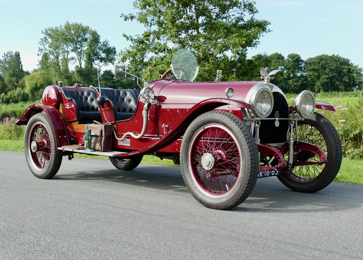 Simplex Crane Model 5 Raceabout Speedster 1916 For Sale (picture 3 of 7)