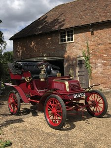 1904 Crestmobile Type D For Sale by Auction 19th September For Sale by Auction