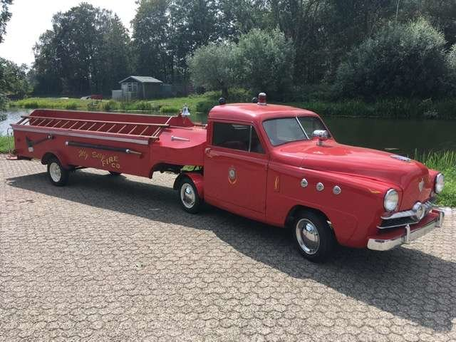 1951 crosley microcar firetruck For Sale (picture 1 of 8)