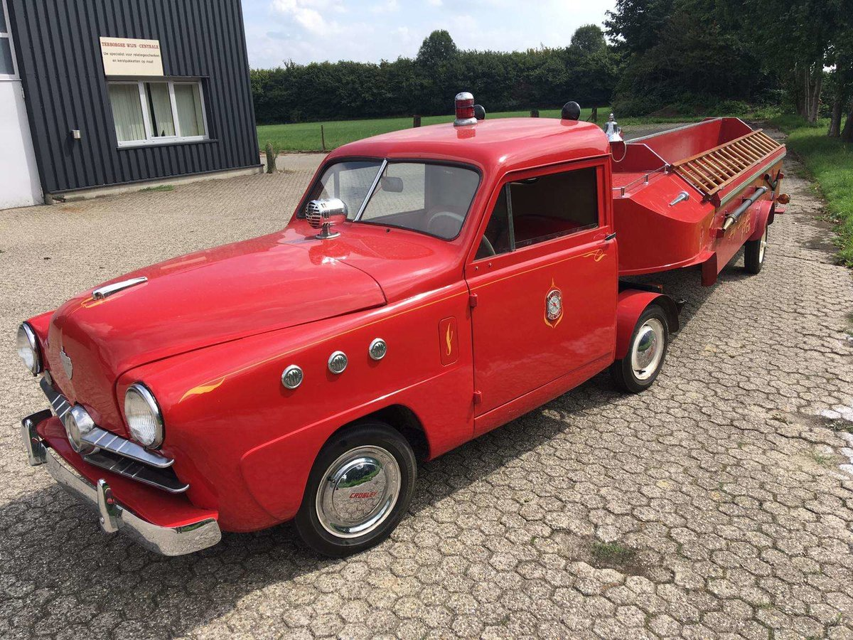 1951 crosley microcar firetruck For Sale (picture 7 of 8)