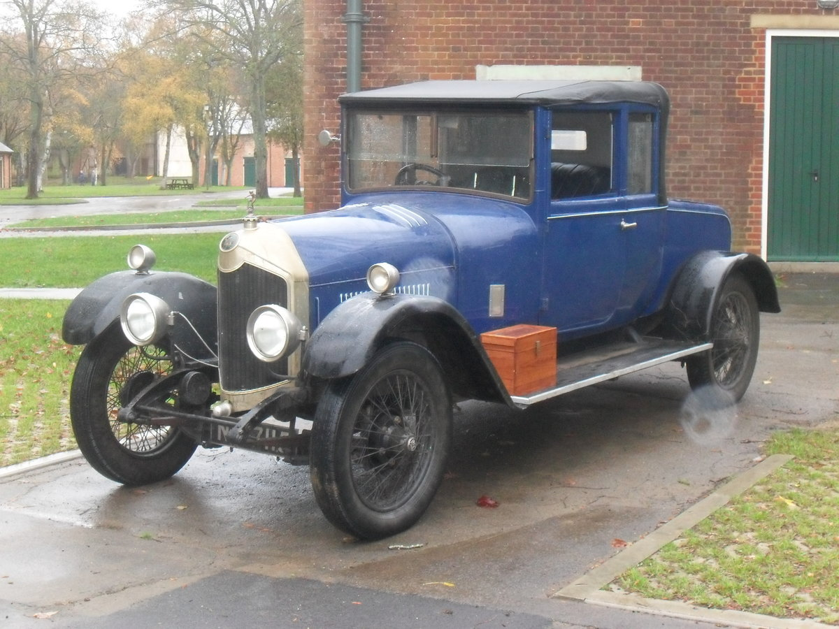 1924 Crossley bodied Dr's Coupe SOLD (picture 2 of 6)
