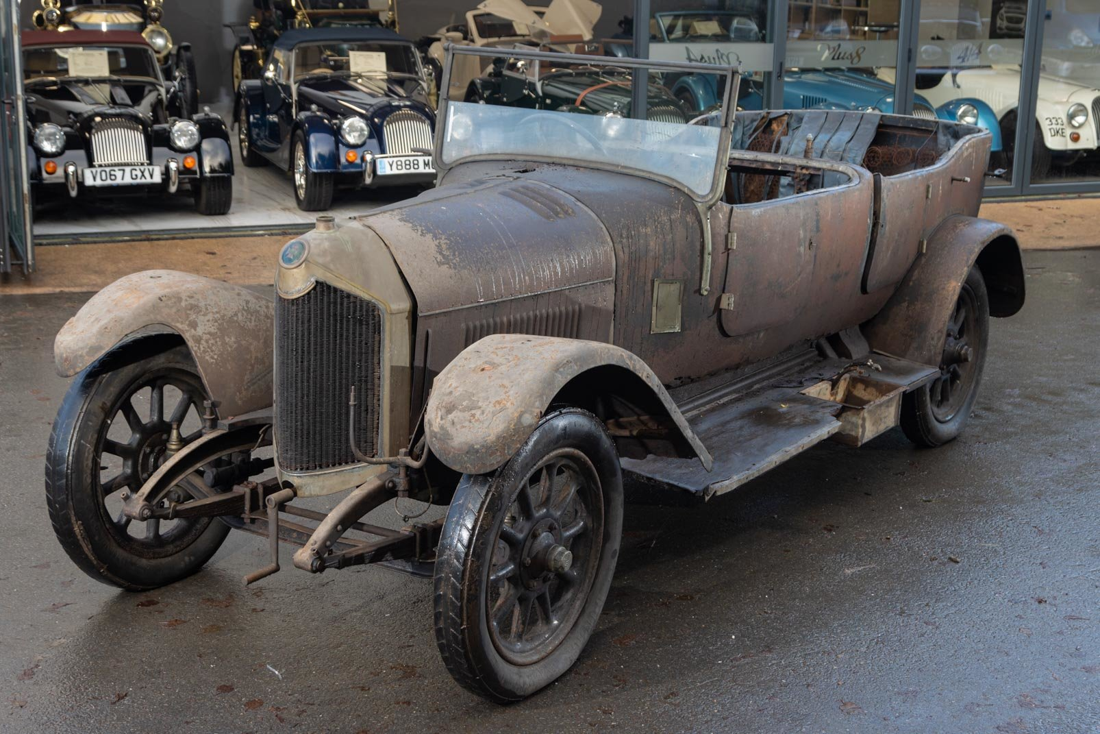 Crossley 19.6hp Tourer of 1926 'Barn Find'  For Sale (picture 1 of 6)