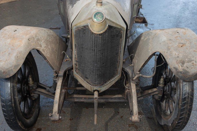 Crossley 19.6hp Tourer of 1926 'Barn Find'  For Sale (picture 2 of 6)
