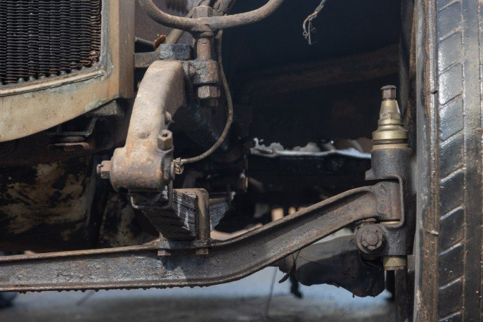Crossley 19.6hp Tourer of 1926 'Barn Find'  For Sale (picture 3 of 6)
