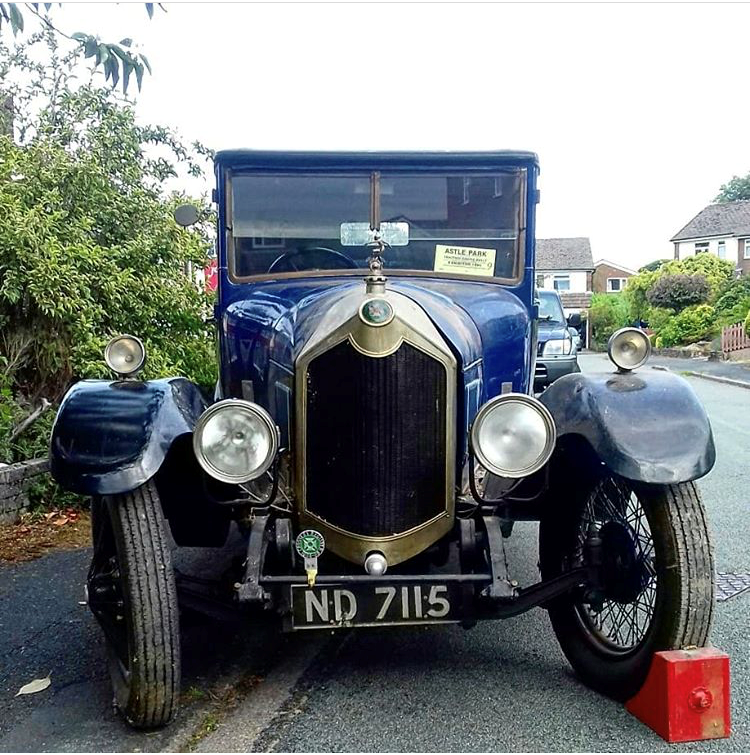 1924 Crossley Bodied Dr's Coupe For Sale