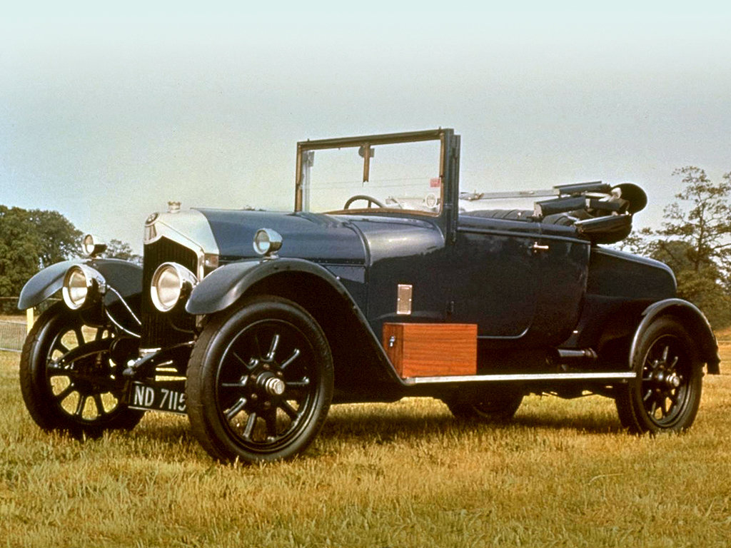 1924 Crossley bodied Dr's Coupe SOLD (picture 1 of 6)