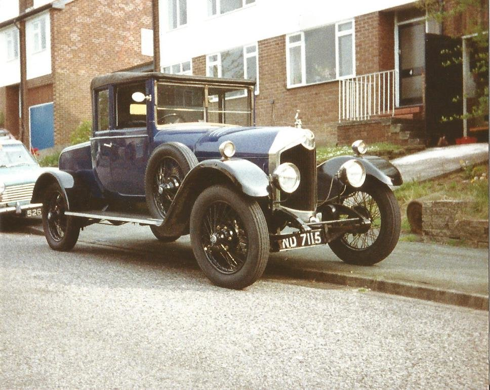 1924 Crossley bodied Dr's Coupe SOLD (picture 5 of 6)