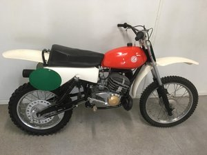 1983 CZ 513 Motocross twinshock in fully restored condition