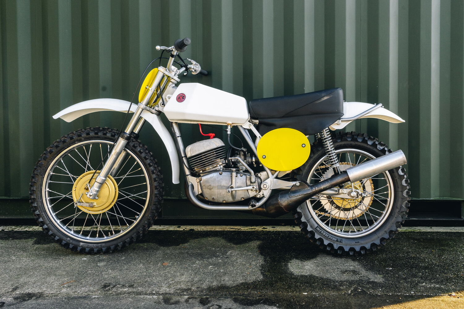 1972 CZ 250cc Moto Cross Excellent, Restored! For Sale (picture 1 of 10)