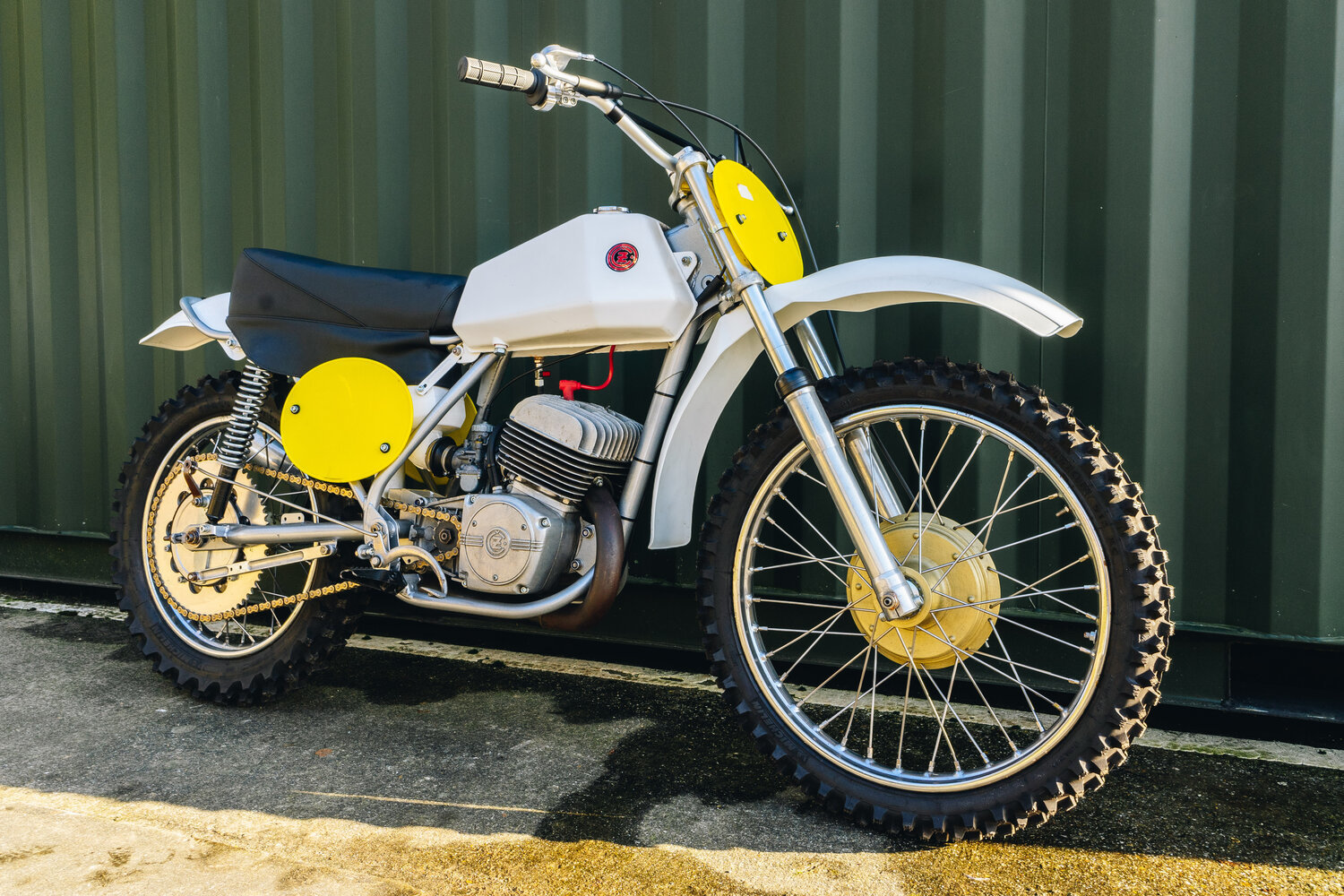 1972 CZ 250cc Moto Cross Excellent, Restored! For Sale (picture 7 of 10)
