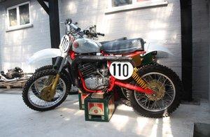 1978 CZ 380, Classic  twin shock motocross bike. MX,