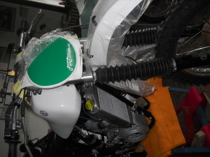 water cooled very rare CZ motocross