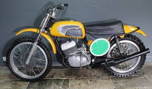 1971 CZ 250 cc Two Stroke Motocross , Excellent