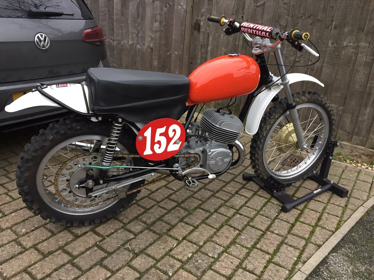 1972 CZ 250 Motocross For Sale (picture 1 of 3)