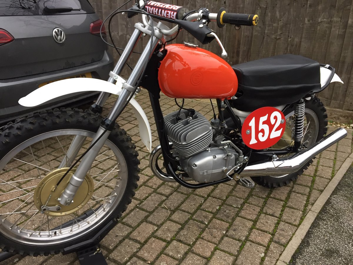 1972 CZ 250 Motocross For Sale (picture 2 of 3)