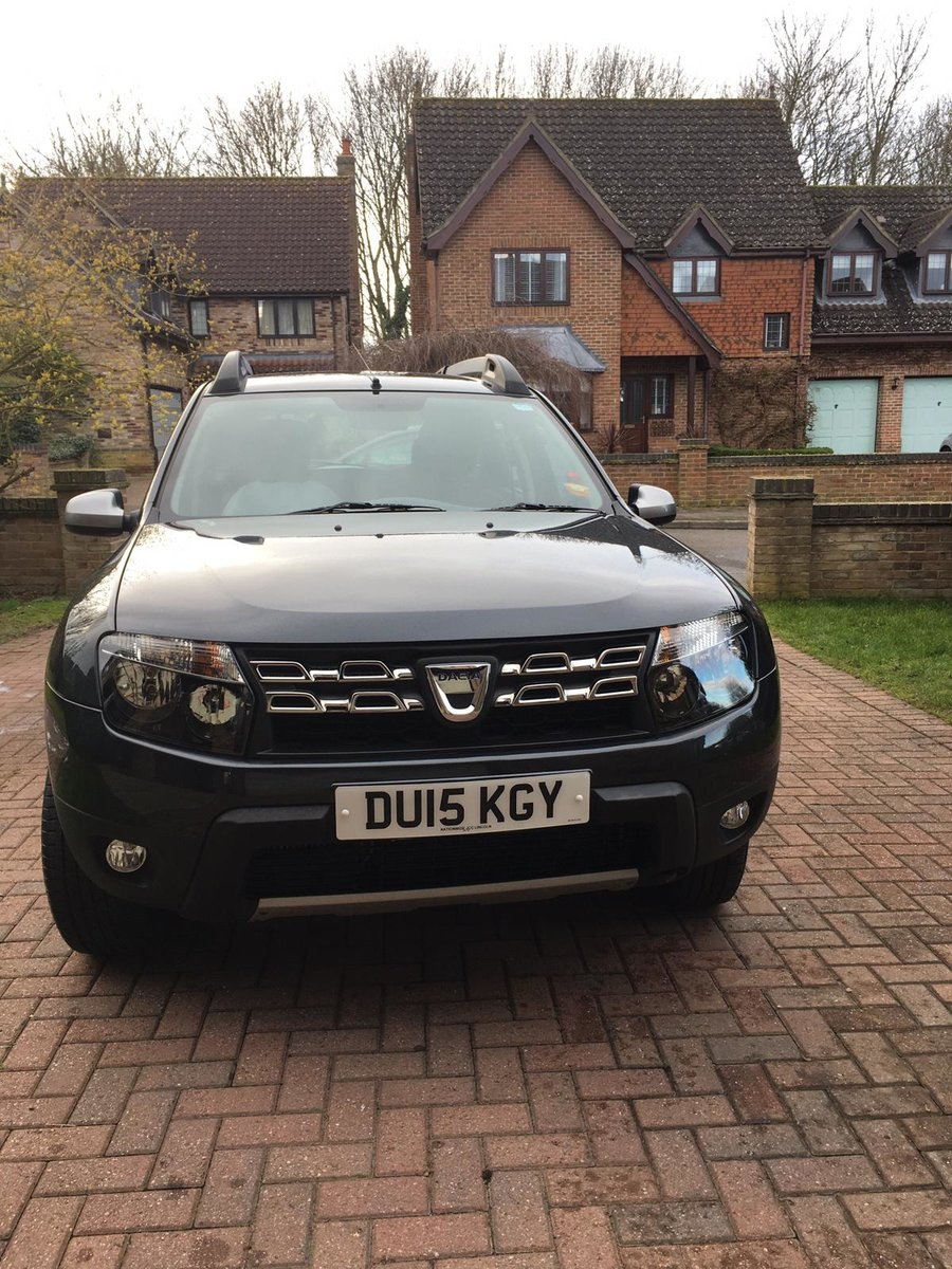 2015 Dacia Duster 4X4 - 44k miles For Sale (picture 1 of 6)