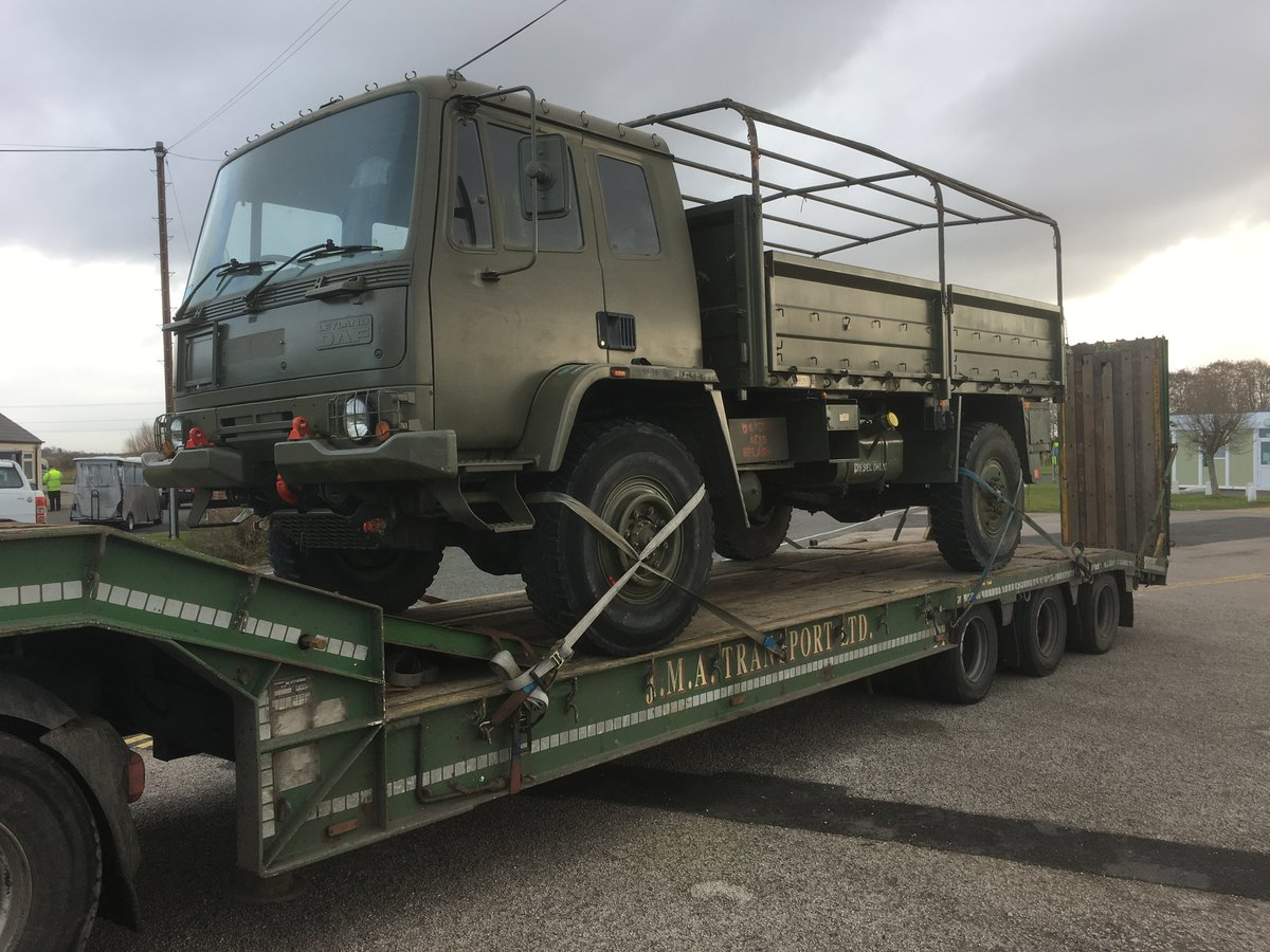 1990 DAF 45 ARMY troop or MILITARY cargo transport For Sale (picture 1 of 6)