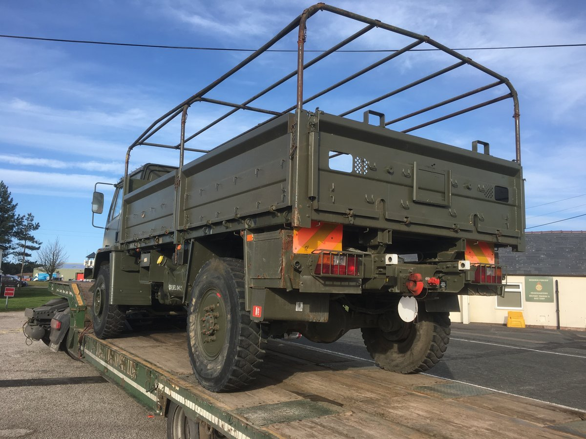 1990 DAF 45 ARMY troop or MILITARY cargo transport For Sale (picture 3 of 6)
