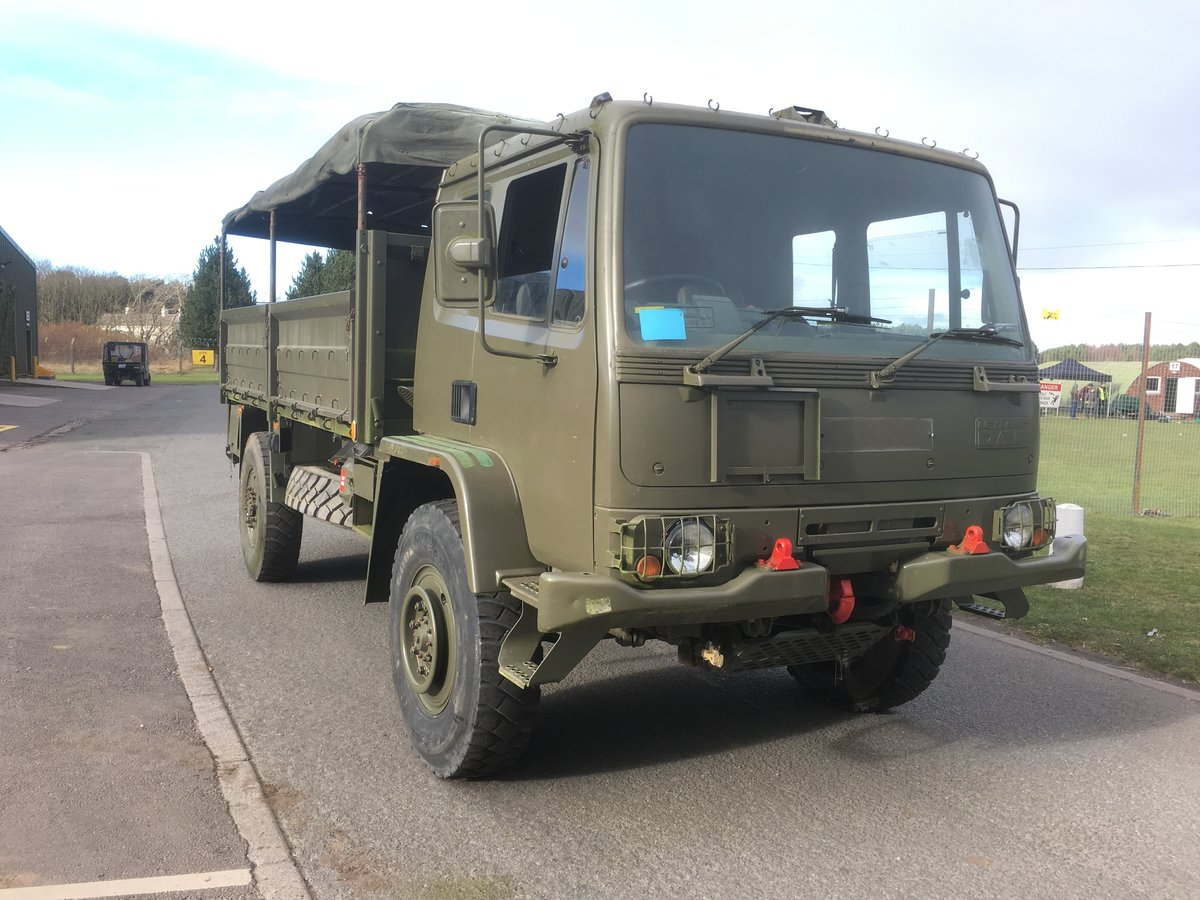 1990 DAF 45 ARMY troop or MILITARY cargo transport For Sale (picture 4 of 6)