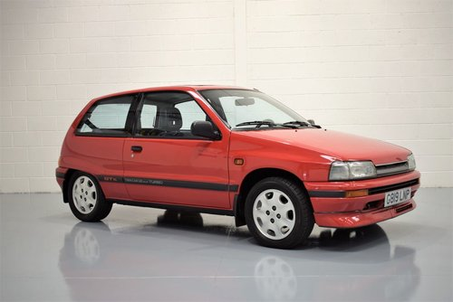 1989 Daihatsu Charade 1.0 Turbo GTti -  TOTALLY RUST FREE For Sale (picture 1 of 6)