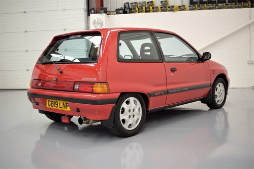 1989 Daihatsu Charade 1.0 Turbo GTti -  TOTALLY RUST FREE For Sale (picture 2 of 6)