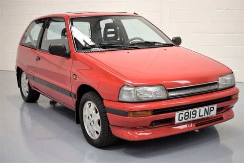 1989 Daihatsu Charade 1.0 Turbo GTti -  TOTALLY RUST FREE For Sale (picture 6 of 6)
