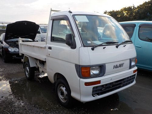 1998 DAIHATSU HIJET CLIMBER TIPPER 4 WHEEL DRIVE * 4X4 DUMP TRUCK For Sale (picture 1 of 6)