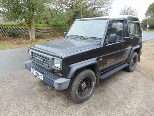 1992 Daihatsu Fourtrak SOLD (picture 1 of 1)