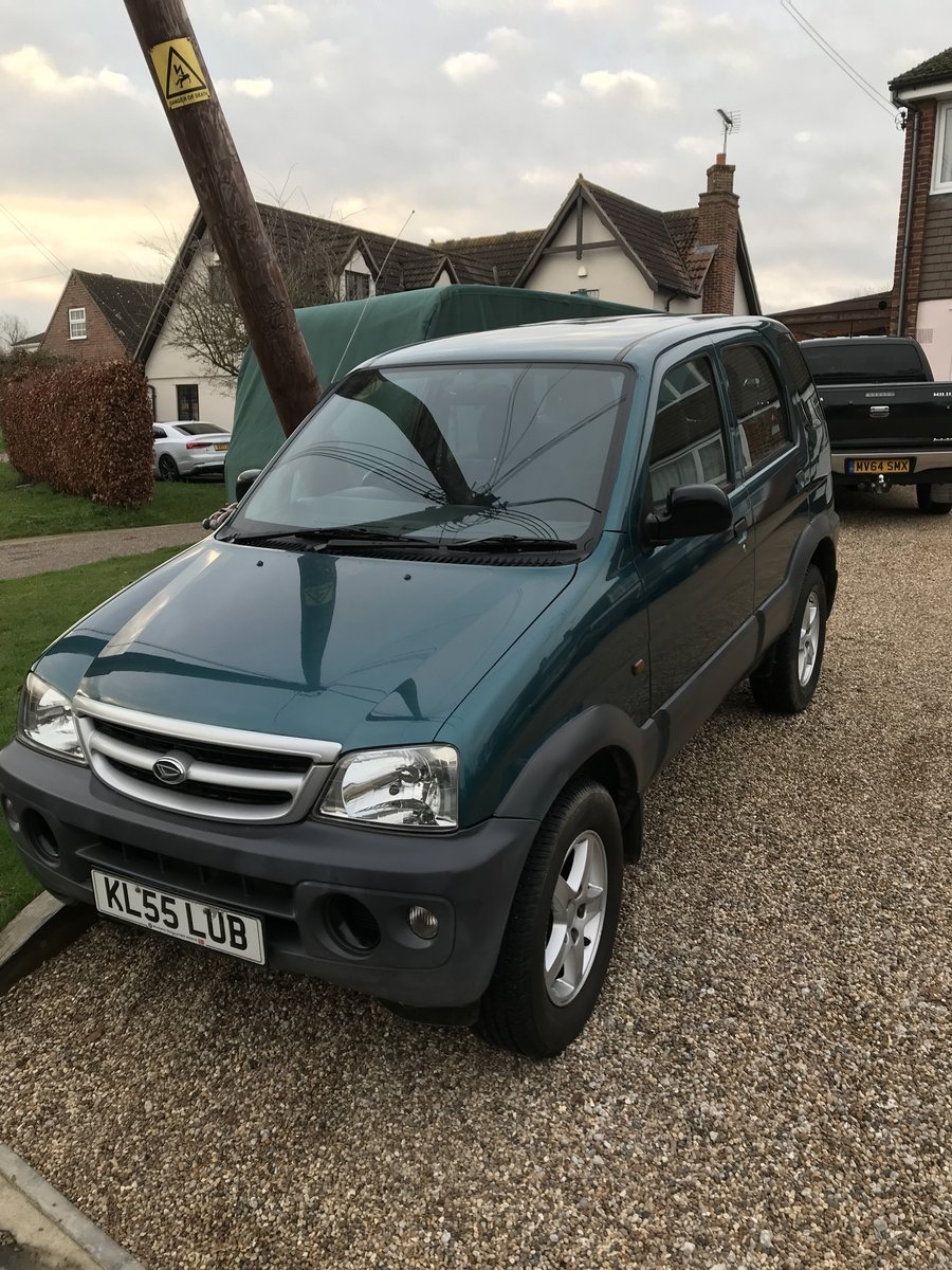 2005 Daihatsu Terios 4x4 For Sale (picture 2 of 6)