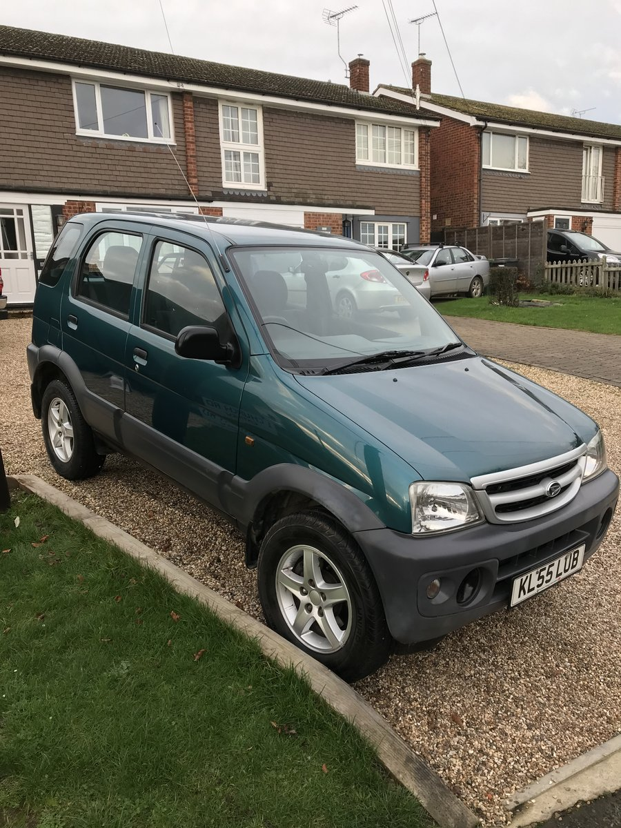 2005 Daihatsu Terios 4x4 For Sale (picture 3 of 6)