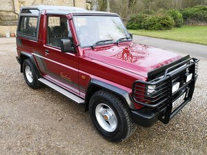 1991 DAIHATSU FOURTRAK TDX - ONLY 23K MILES - AS NEW !