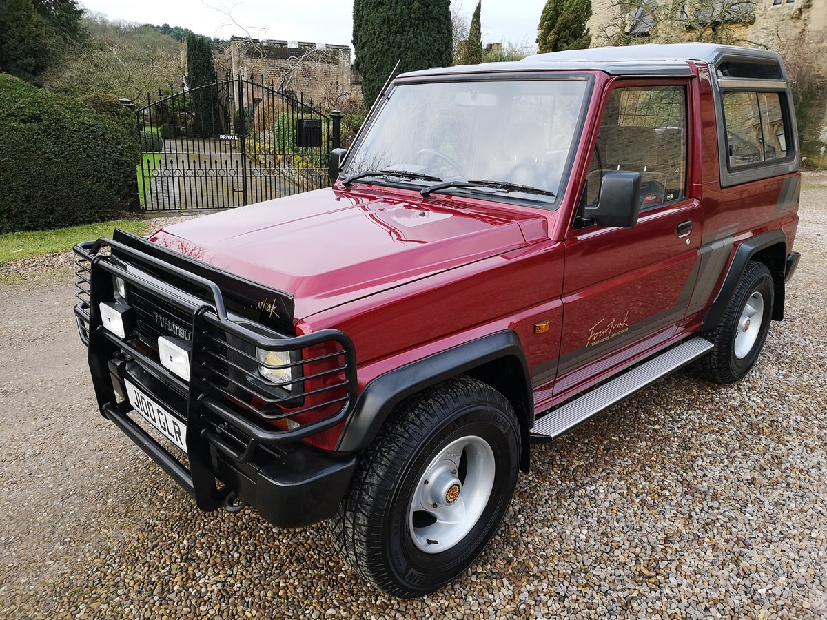 1991 DAIHATSU FOURTRAK TDX - ONLY 23K MILES - AS NEW ! For Sale (picture 2 of 6)