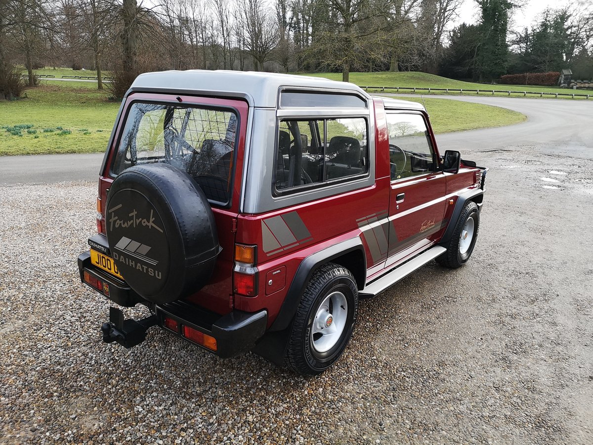 1991 DAIHATSU FOURTRAK TDX - ONLY 23K MILES - AS NEW ! For Sale (picture 3 of 6)