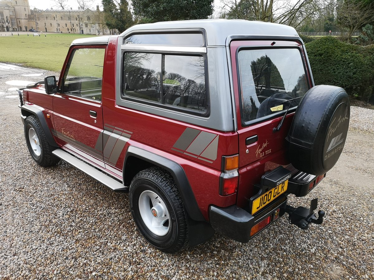 1991 DAIHATSU FOURTRAK TDX - ONLY 23K MILES - AS NEW ! For Sale (picture 4 of 6)