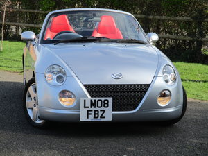 2008 Beautiful little Copen. 11 Services. Heated Red Leather. For Sale