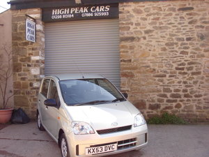 2003 53 DAIHATSU CHARADE 1.0 SL 5DR 40423 MILES A/C. For Sale