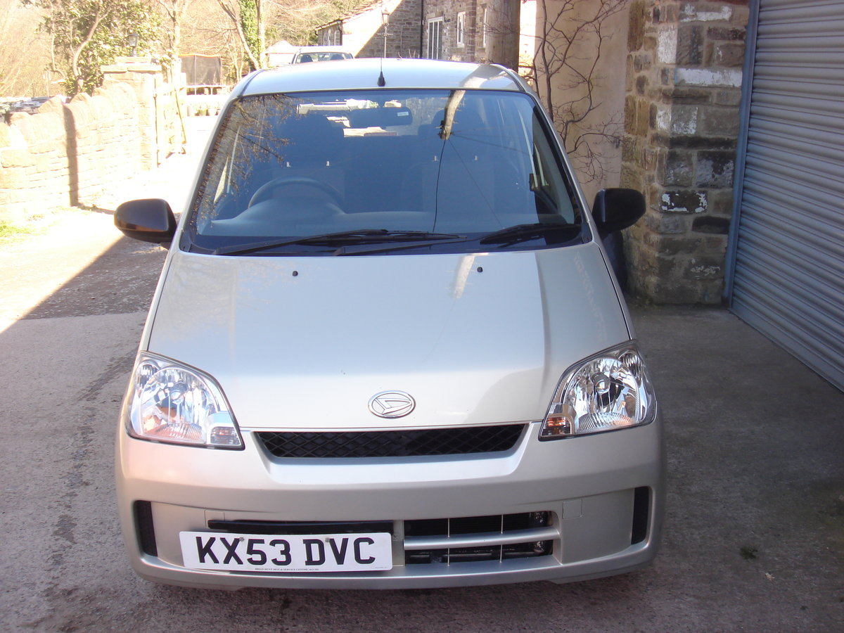 2003 53 DAIHATSU CHARADE 1.0 SL 5DR 40423 MILES A/C. For Sale (picture 3 of 6)